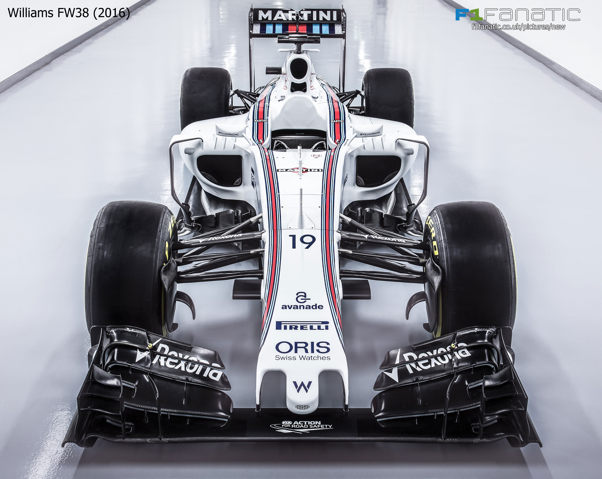 2017 Williams Fw40 And 2016 Fw38 Front View