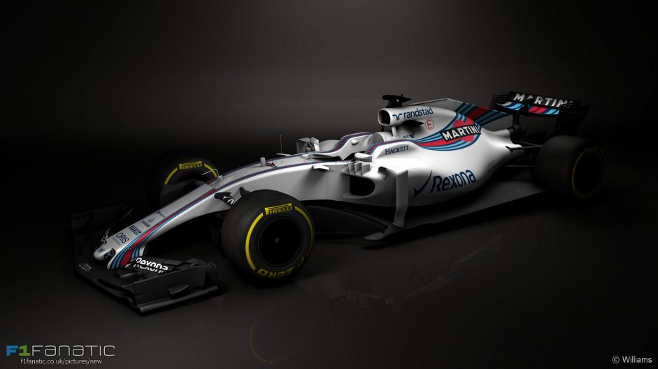 Williams reveals first images of 2017 F1 car