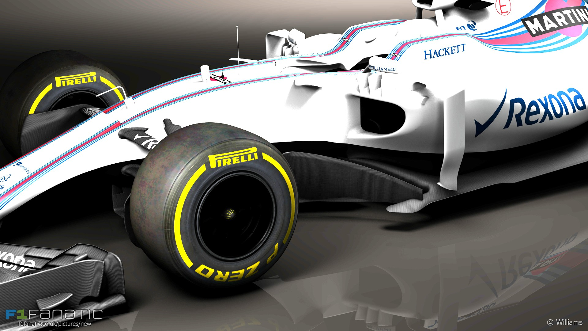 Williams FW40, 2017