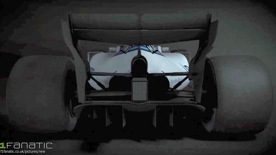 Williams FW40 rear, 2017
