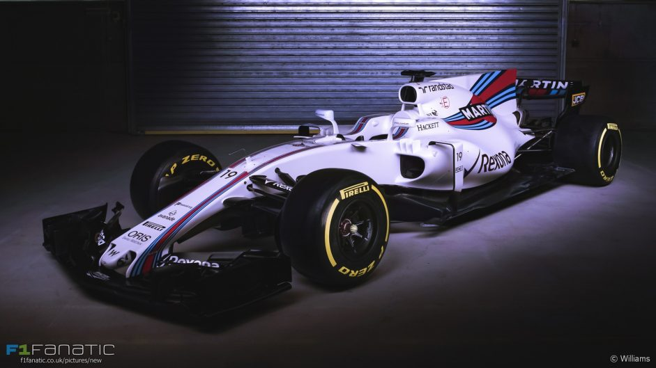 Pictures: Williams officially present their new F1 car