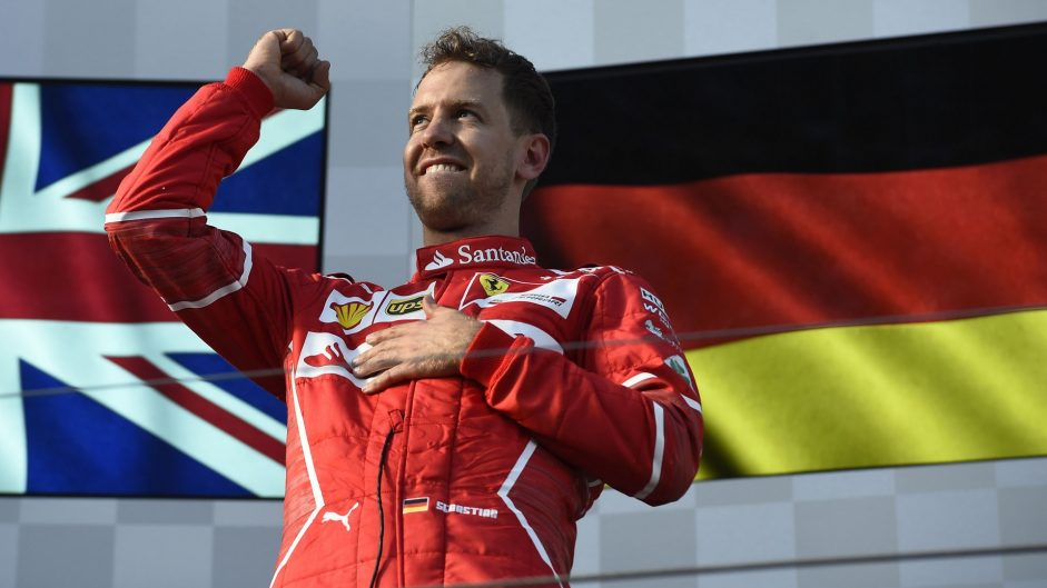 Vettel takes back-to-back Driver of the Weekend wins