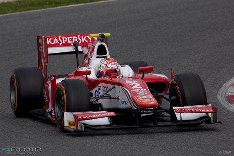 Antonio Fuoco Prema GP2 2017