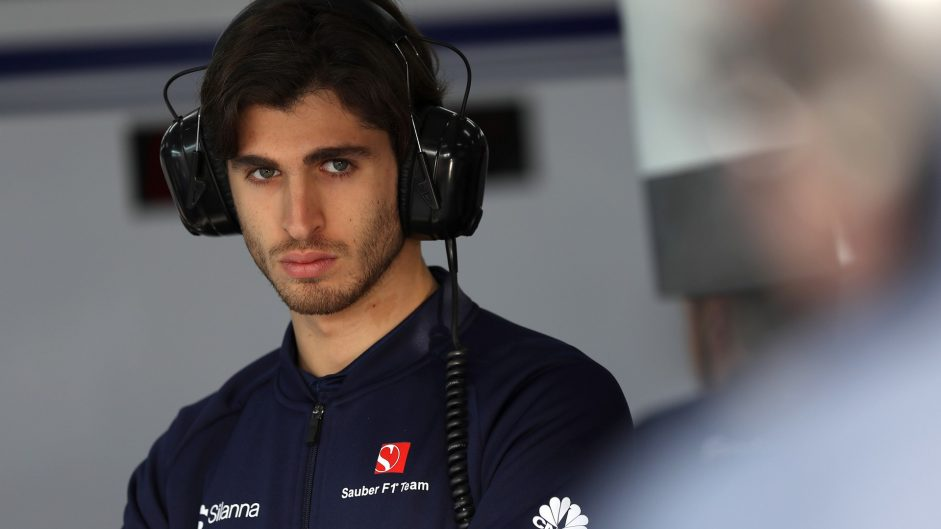 Giovinazzi to make F1 debut in place of Wehrlein at Sauber