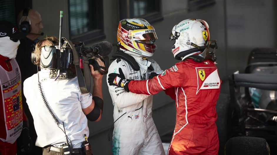 Hamilton and Vettel: A title fight ten years in the making