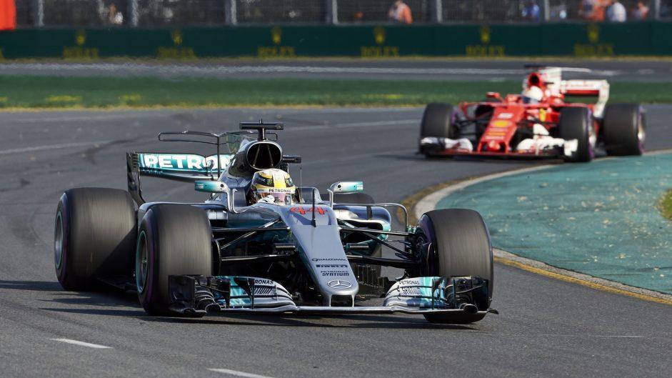 2017 Australian Grand Prix team radio transcript