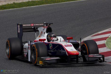 Nabil Jeffri Trident GP2 2017