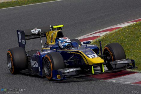Nicholas Latifi DAMS GP2 2017