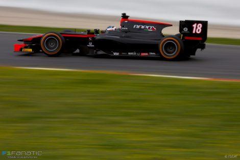 Nyck de Vries Rapax GP2 2017