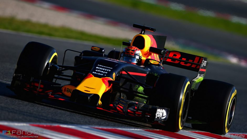 Max Verstappen, Red Bull, Circuit de Catalunya, 2017