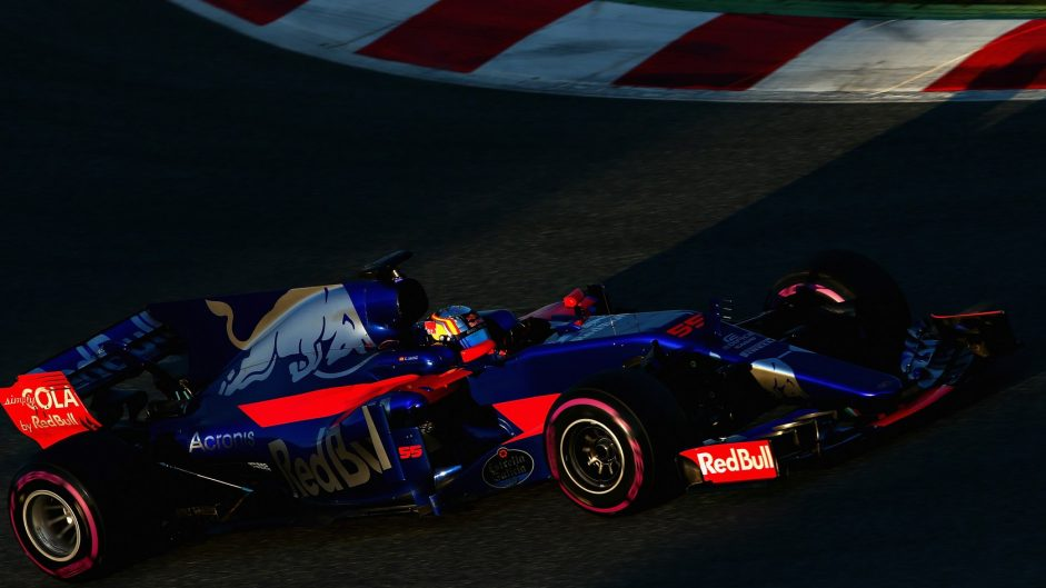 Carlos Sainz Jnr, Toro Rosso, Circuit de Catalunya, 2017