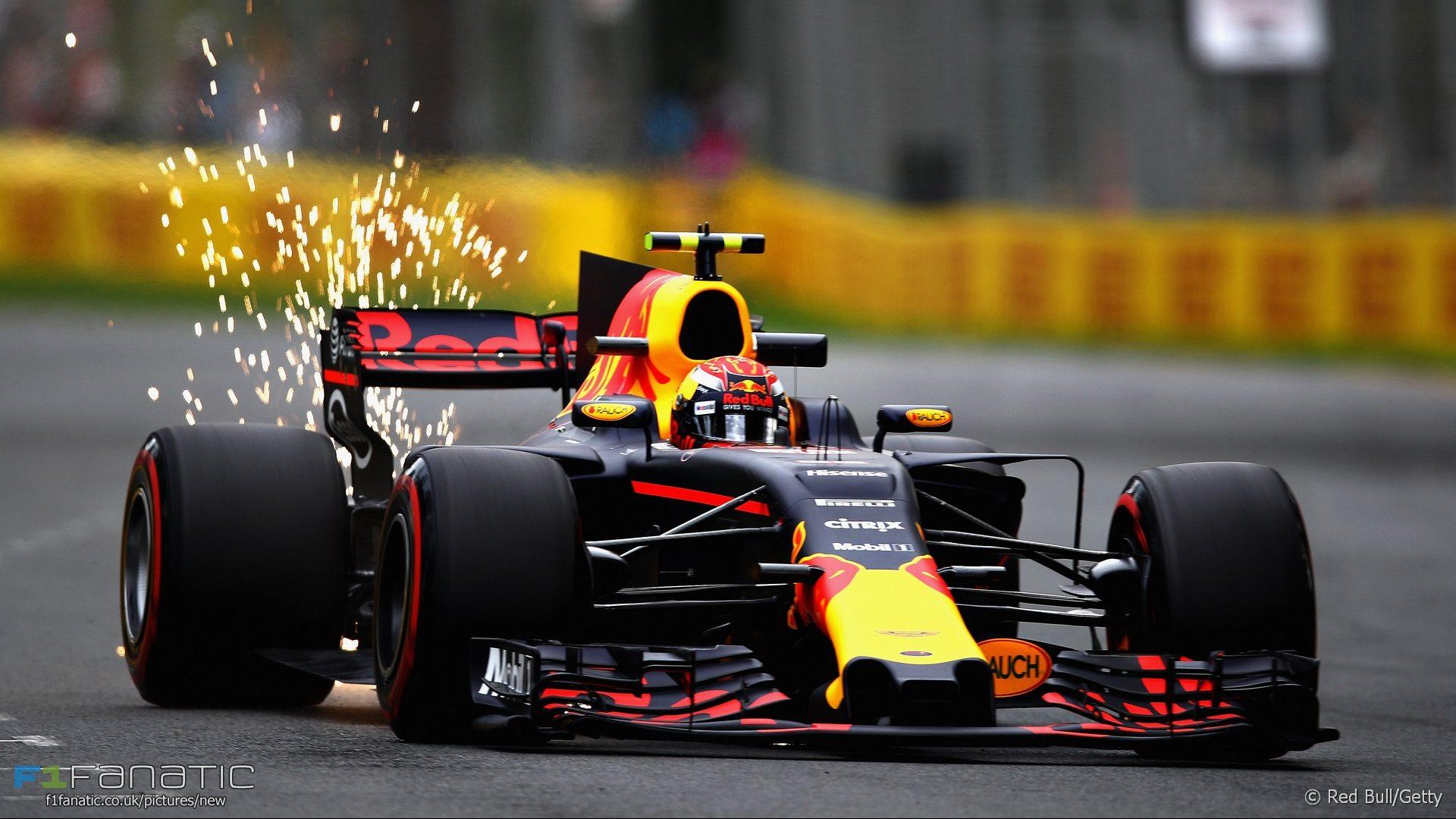 Max Verstappen, Red Bull, Albert Park, 2017 · F1 Fanatic