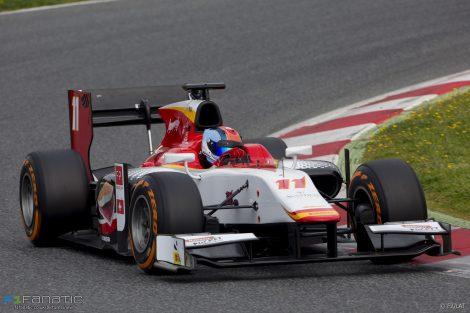 Ralph Boschung Campos GP2 2017
