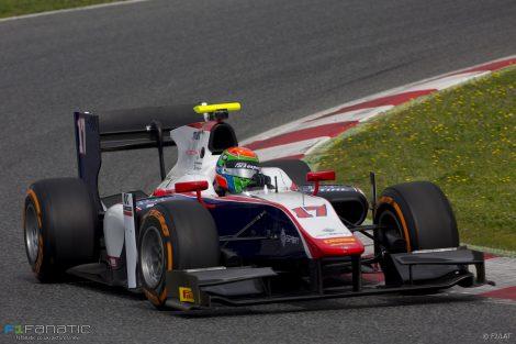Sergio Canamasas Trident GP2 2017