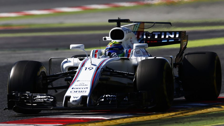Felipe Massa, Williams, Circuit de Catalunya, 2017