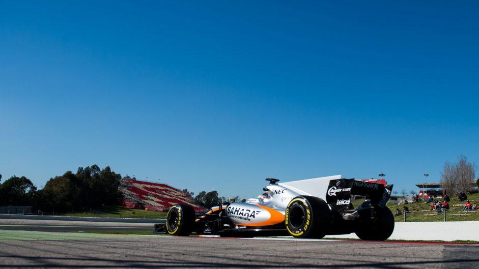 Alfonso Celis, Force India, Circuit de Catalunya, 2017