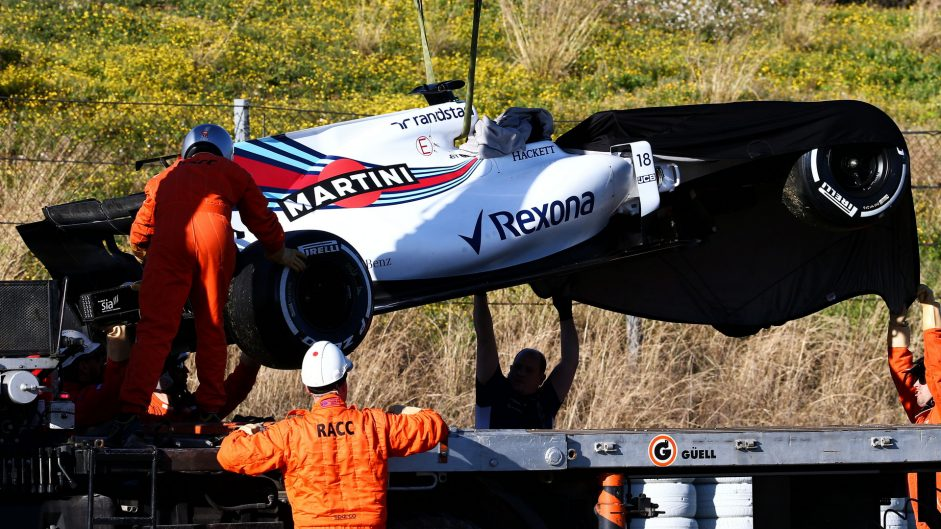 Bottas gets quicker as Stroll crashes again