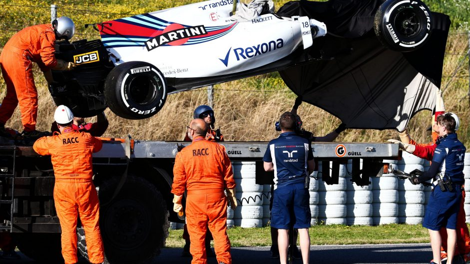 Williams will not run on Thursday after Stroll crash