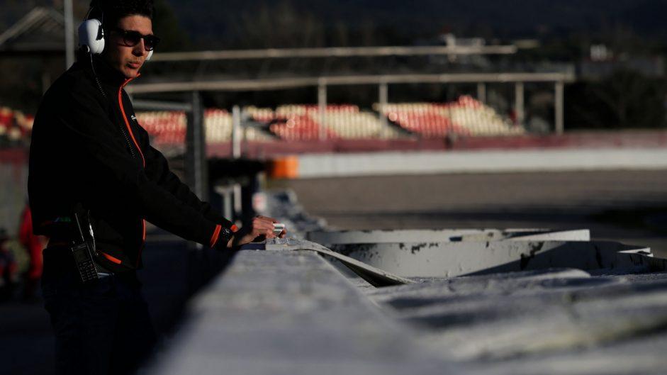 Esteban Ocon, Force India, Circuit de Catalunya, 2017