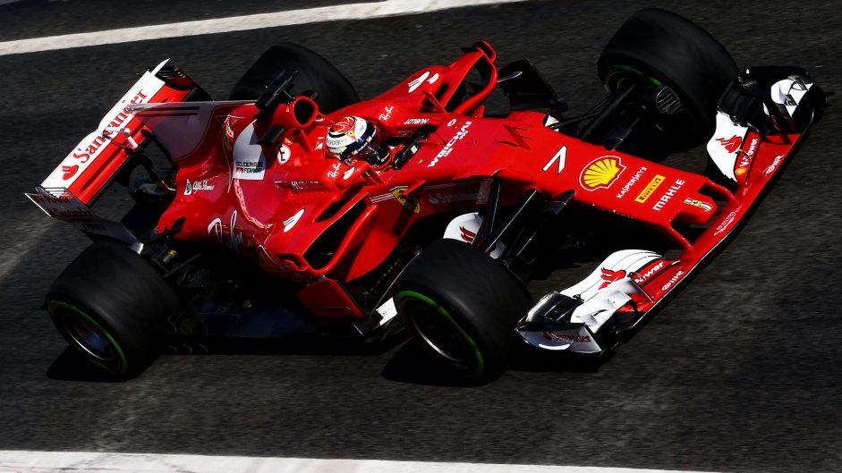 Raikkonen says Ferrari are feeling positive