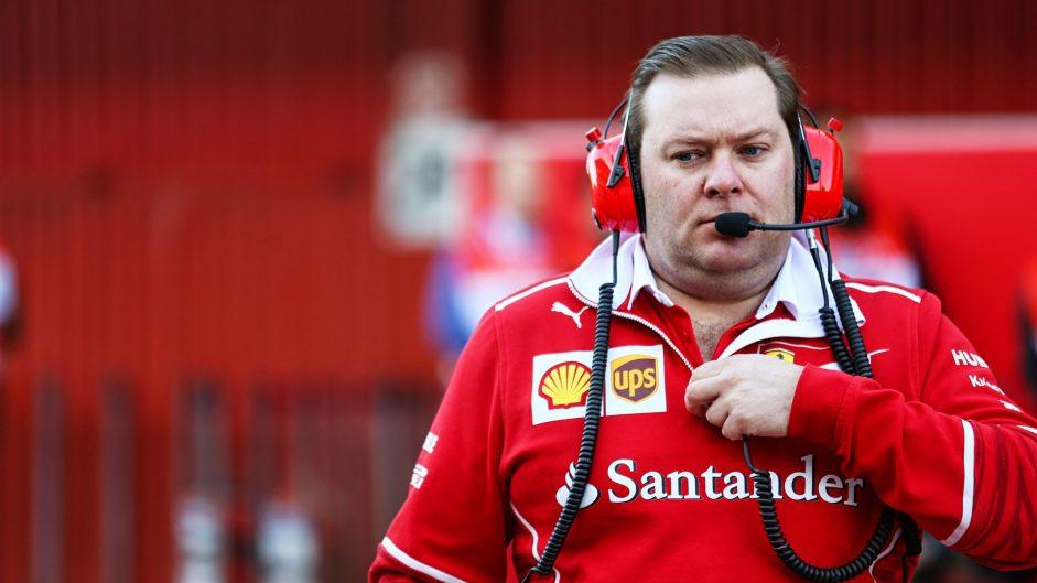 Dave Greenwood, Ferrari, Circuit de Catalunya, 2017