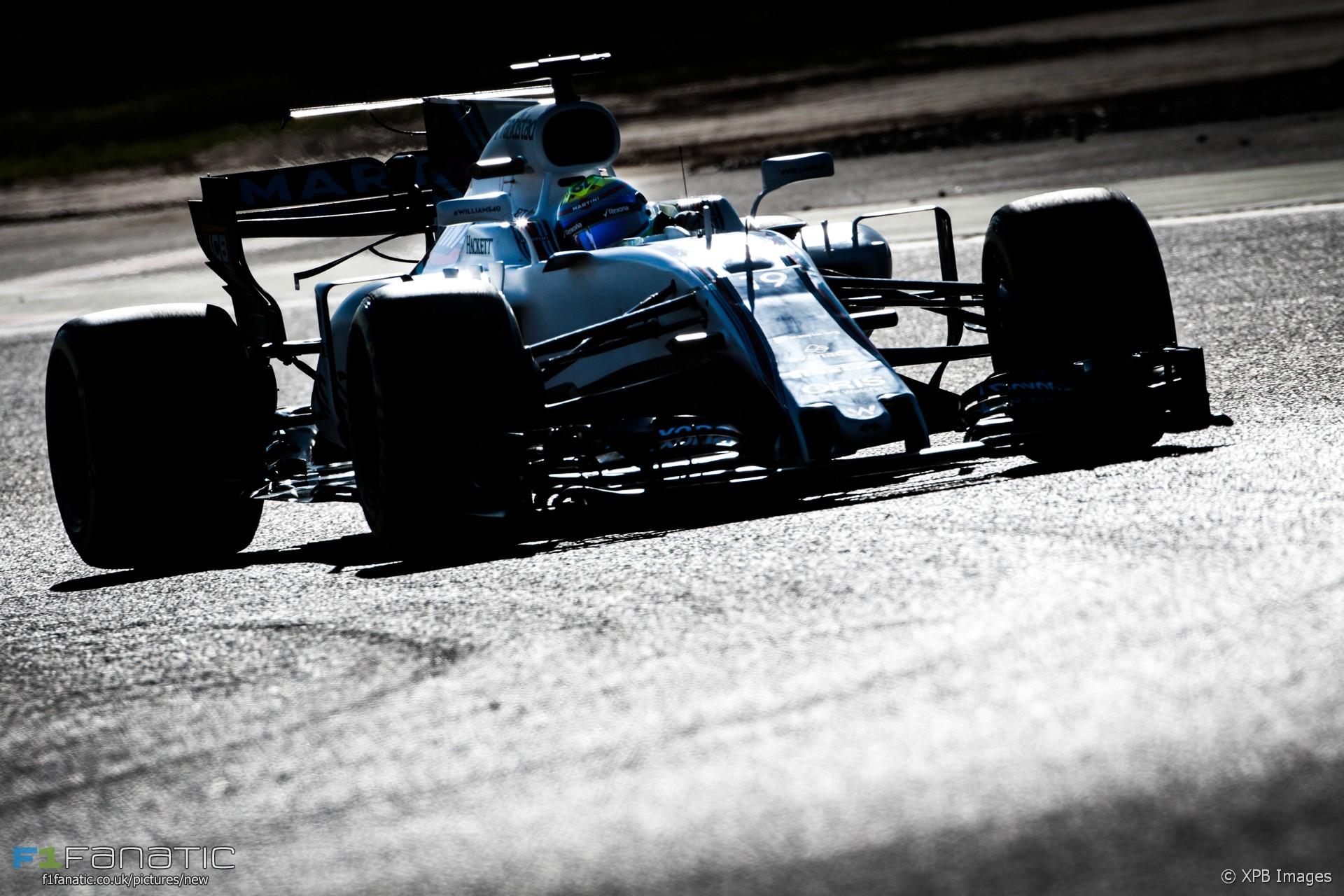 Felipe massa williams circuit de catalunya 2017 f1 for Morning star motor co