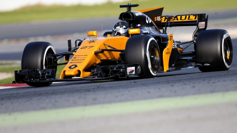New tyres 'double the fun' – Hulkenberg