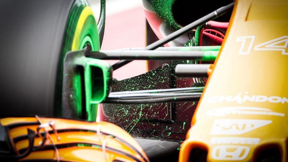 McLaren MCL32, Circuit de Catalunya, 2017