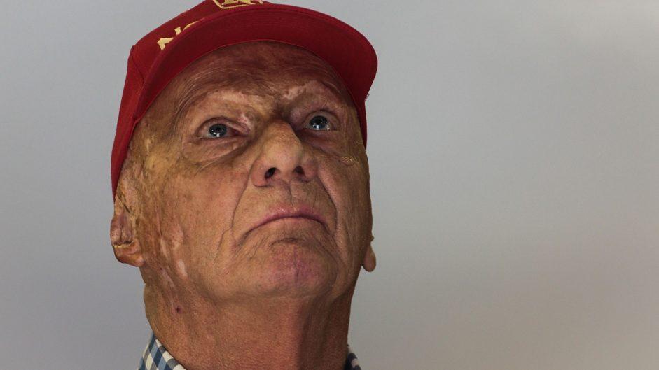 Niki Lauda, Mercedes, Circuit de Catalunya, 2017