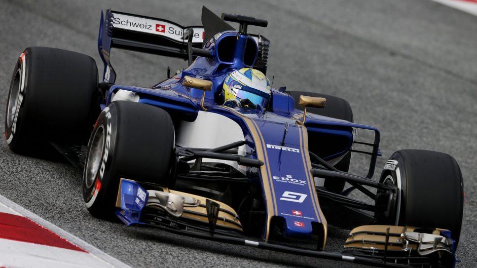 Marcus Ericsson, Sauber, Circuit de Catalunya, 2017