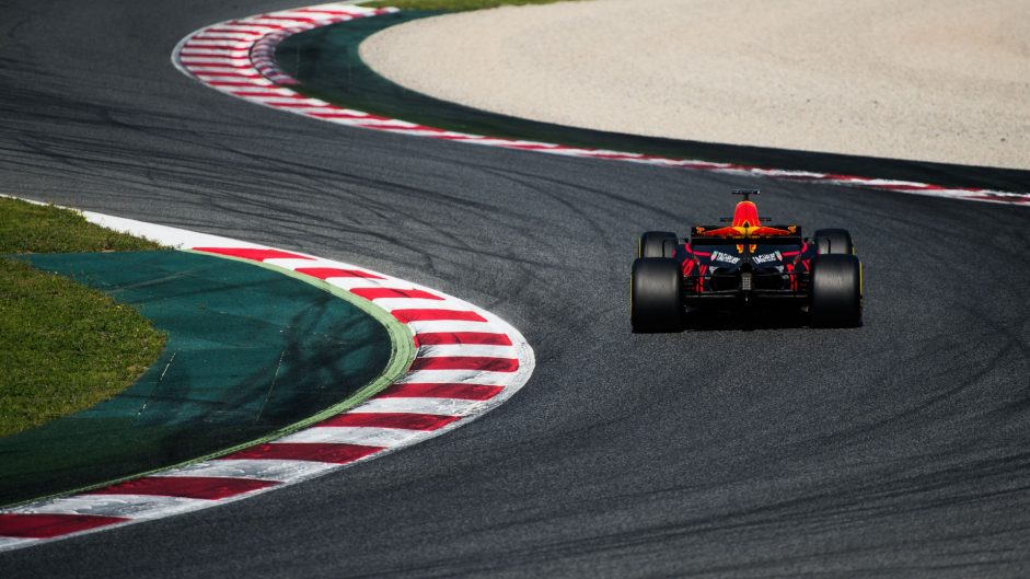 Daniel Ricciardo, Red Bull, Circuit de Catalunya, 2017