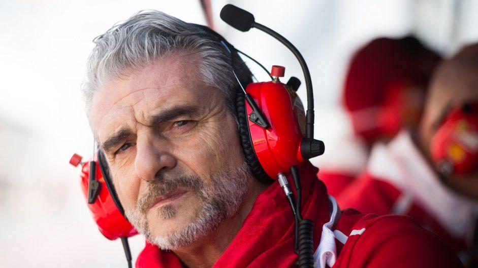Maurizio Arrivabene, Ferrari, Circuit de Catalunya, 2017