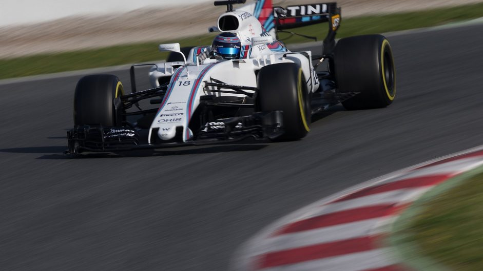 Lance Stroll, Williams, Circuit de Catalunya, 2017