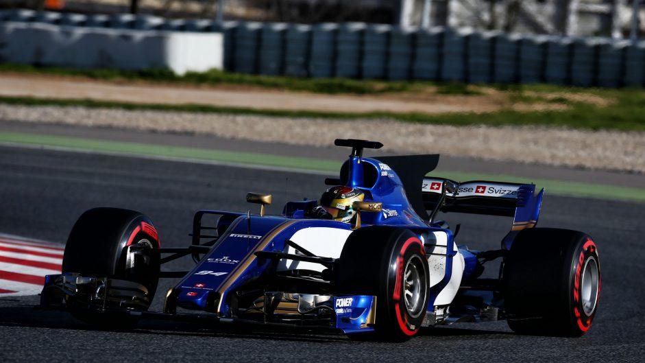 Pascal Wehrlein, Sauber, Circuit de Catalunya, 2017