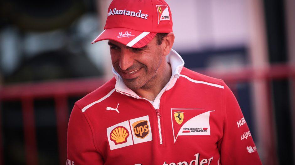 Marc Gene, Ferrari, Circuit de Catalunya, 2017