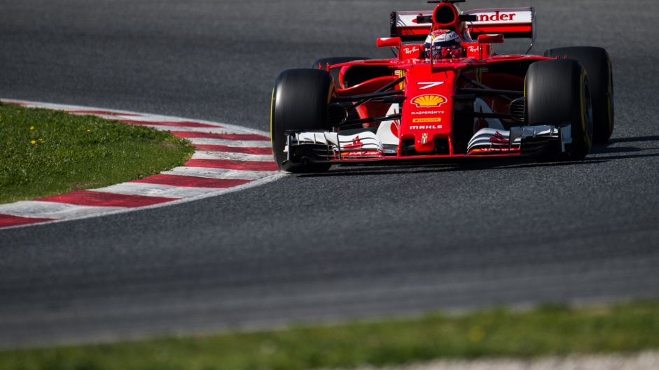 Raikkonen sure Ferrari can go faster after topping tests