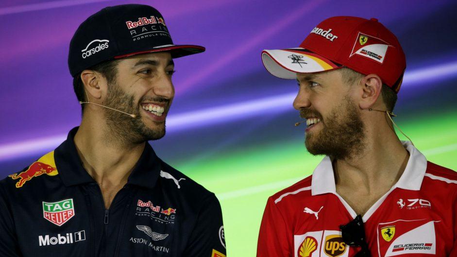 Ricciardo welcomes easing of 'Verstappen rule'