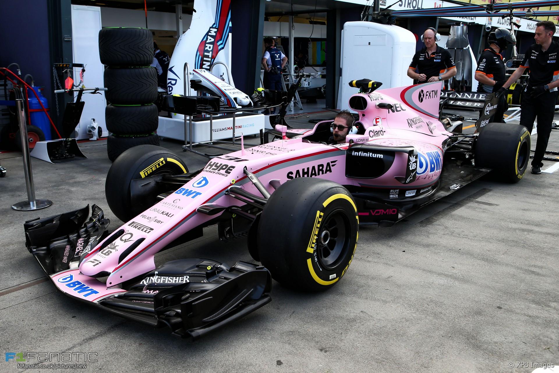 Force India, Albert Park, 2017