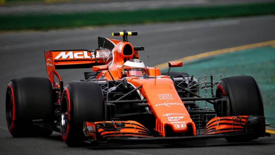 Stoffel Vandoorne, McLaren, Albert Park, 2017