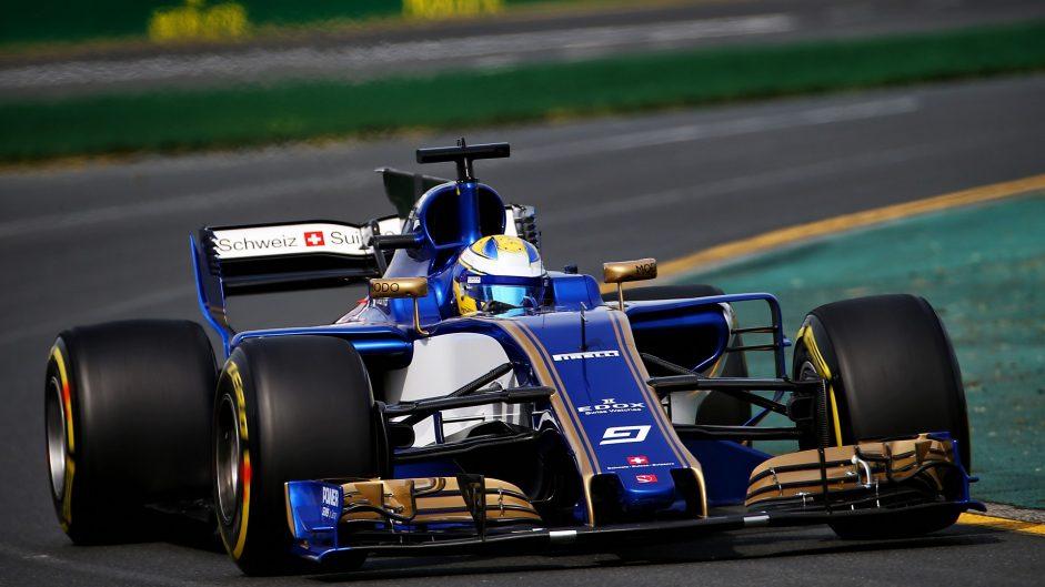 Marcus Ericsson, Sauber, Albert Park, 2017