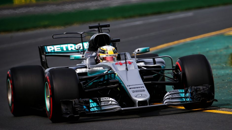 Mercedes lead Red Bull as lap times tumble in Melbourne