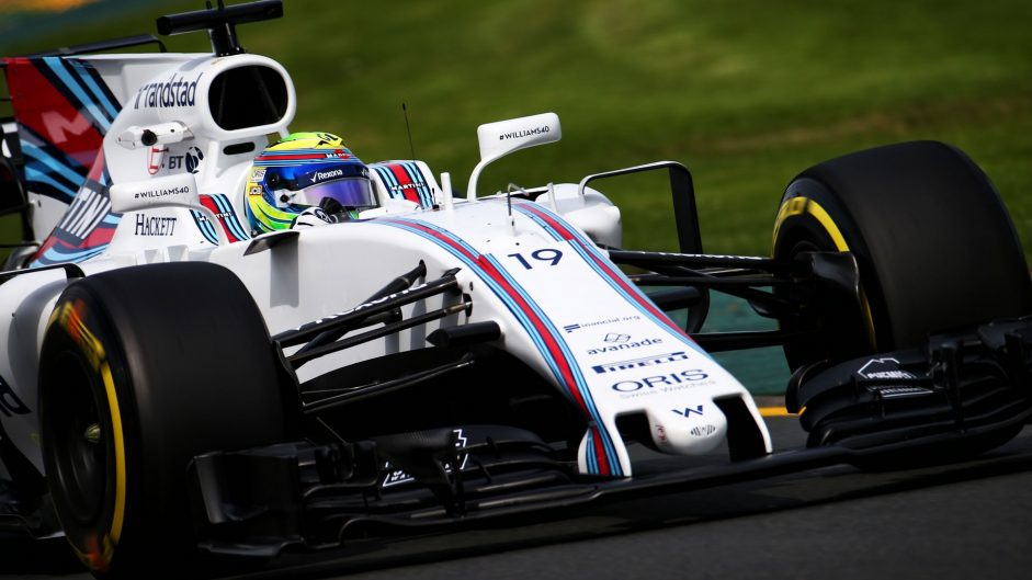 Felipe Massa, Williams, Albert Park, 2017