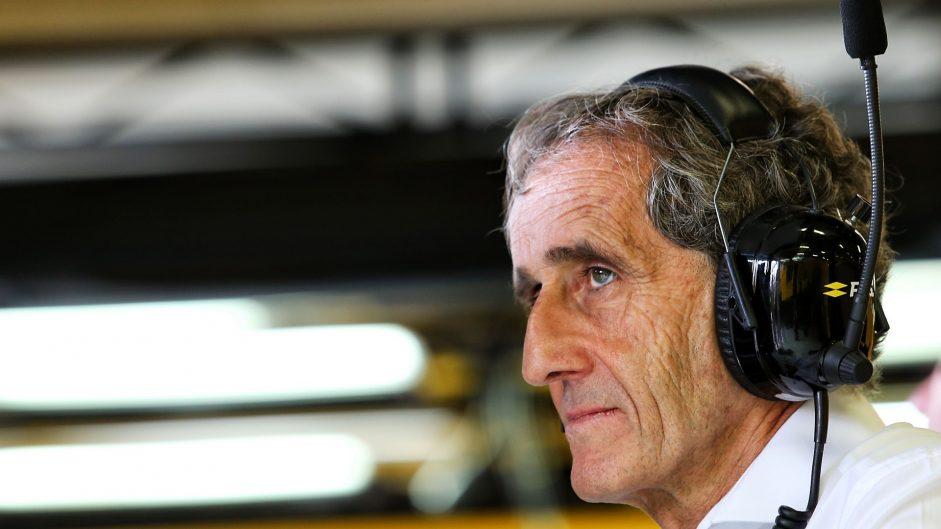 Alain Prost, Renault, Albert Park, 2017