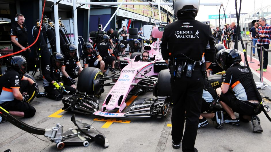 Force India, Albert Park, 2017