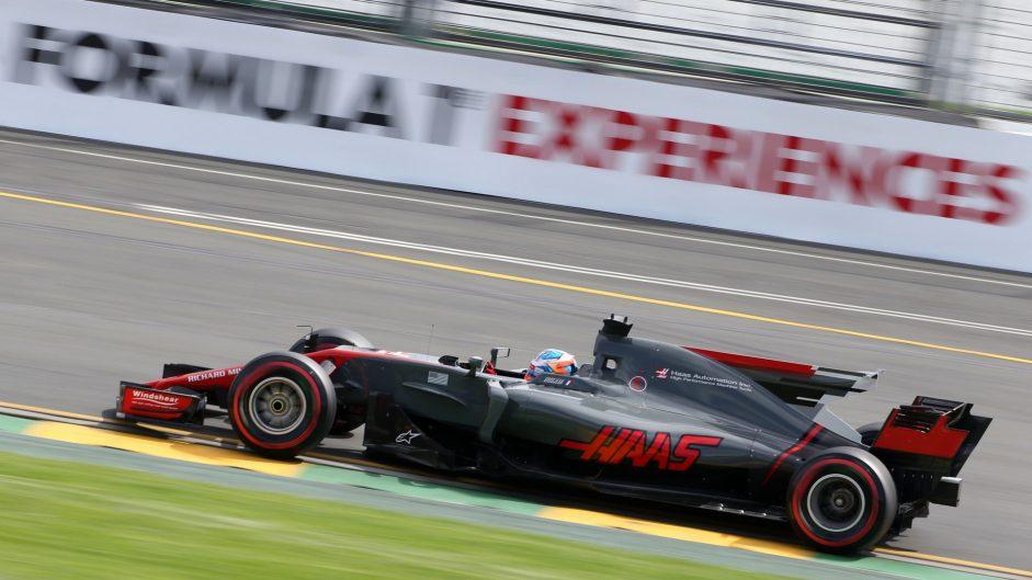 Romain Grosjean, Haas, Albert Park, 2017