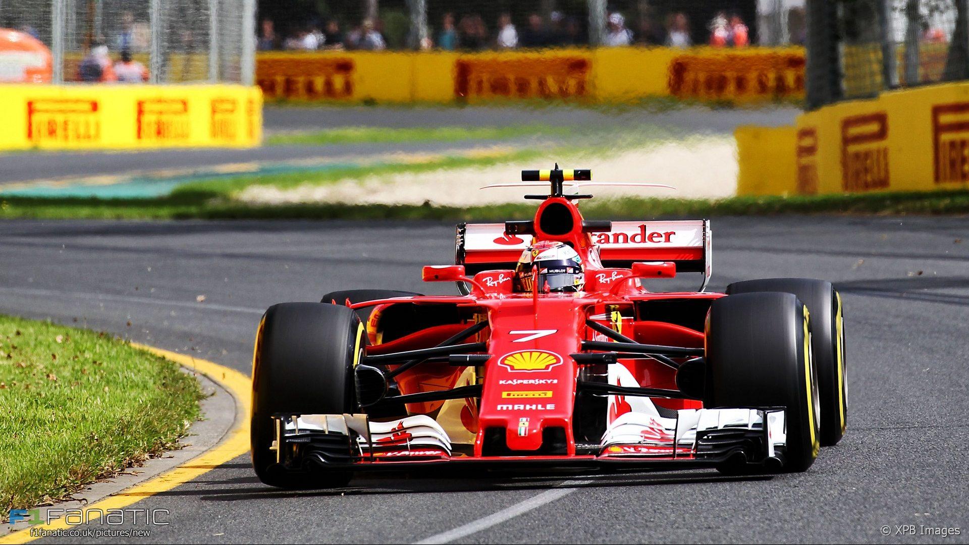 Kimi Raikkonen, Ferrari, Albert Park, 2017