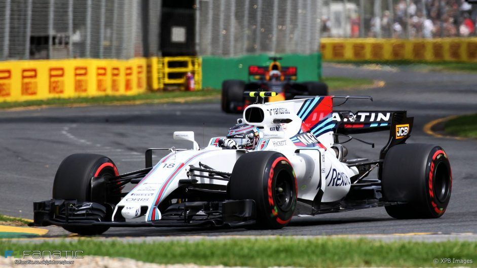 Lance Stroll, Williams, Albert Park, 2017