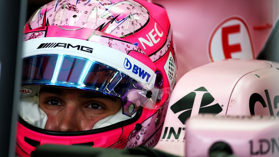 Esteban Ocon, Force India, Albert Park, 2017