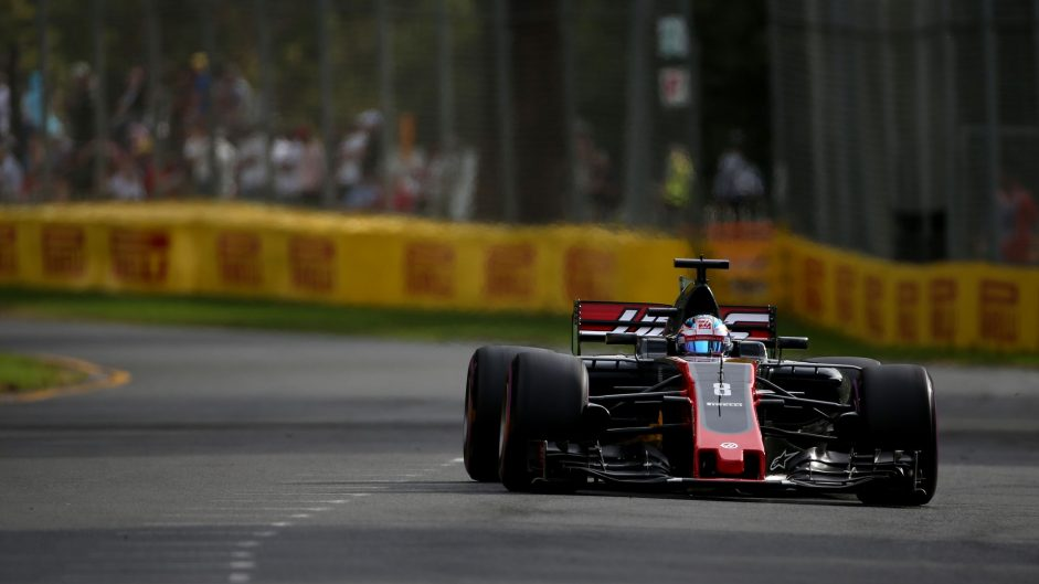 Romain Grosjean, Haas, Albert Park, 2017