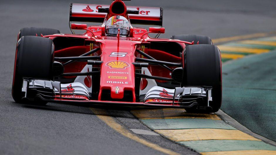 Sebastian Vettel, Ferrari, Albert Park, 2017